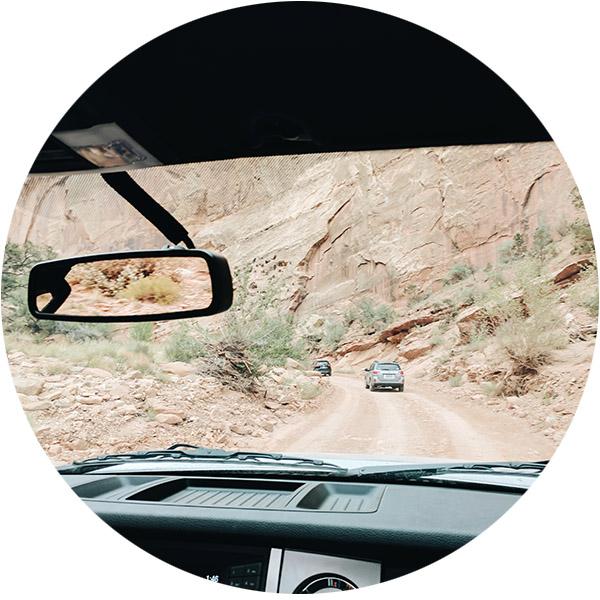 Route scenique Capitol Reef Utah