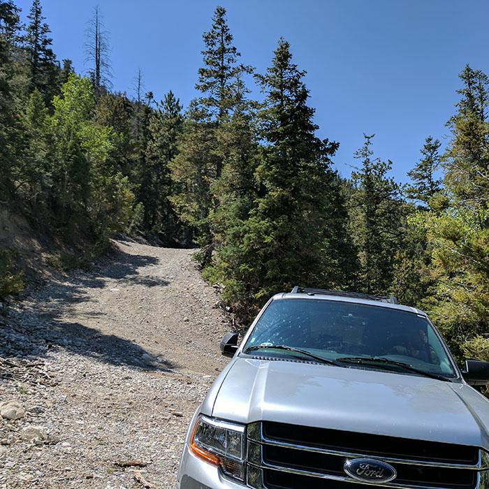 Nevada road trip suv