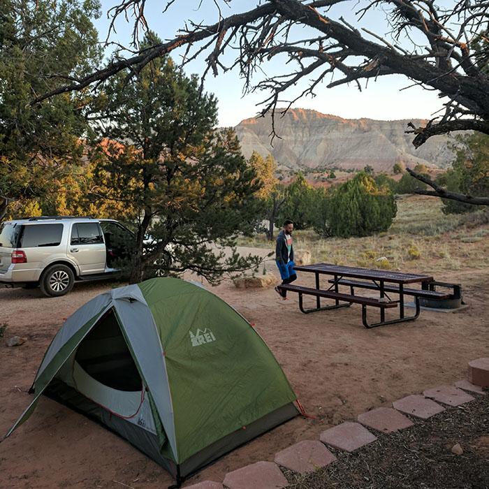 Tente camping Kodachrome