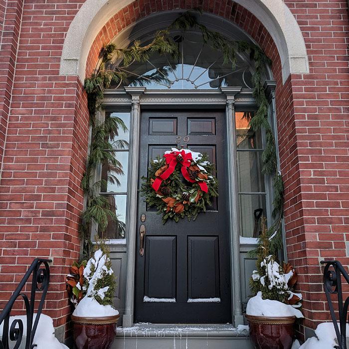 Porte Boston Noel