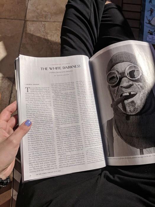 New Yorker Henry Worsley