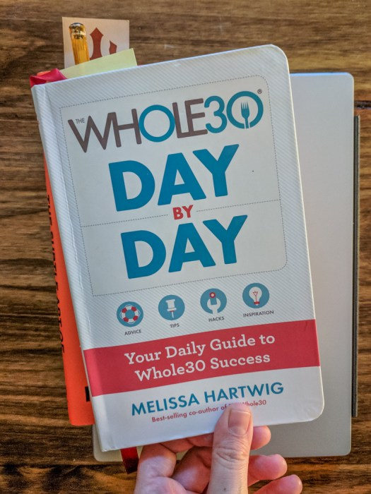 Whole30 Carnet day by day