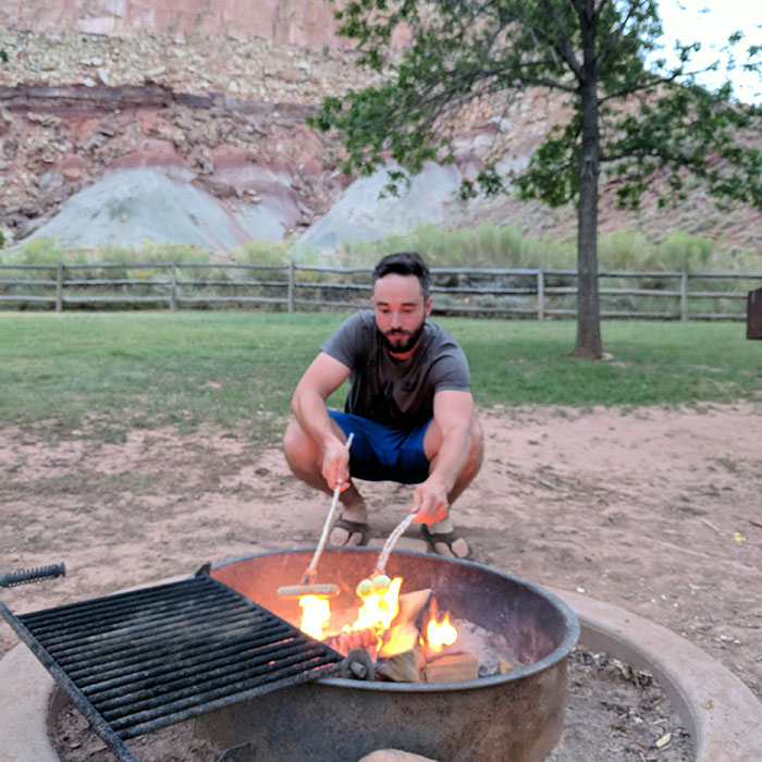Camping Capitol Reef 1