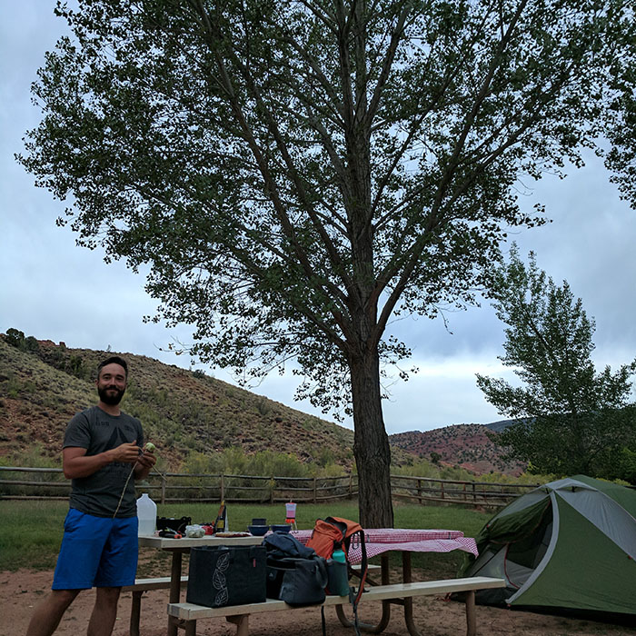 Camping Capitol Reef