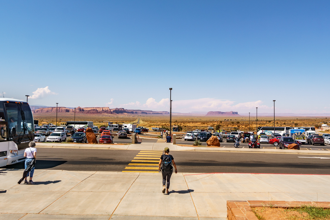 Monument Valley parking