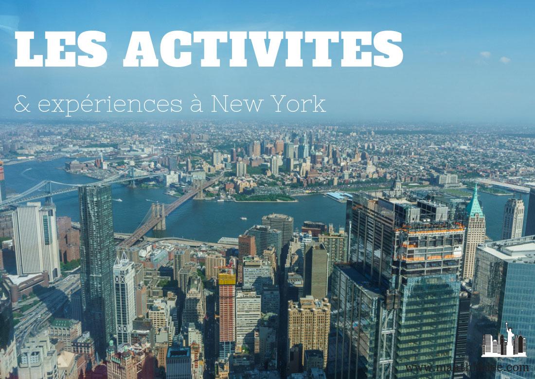Activites et experiences a new york