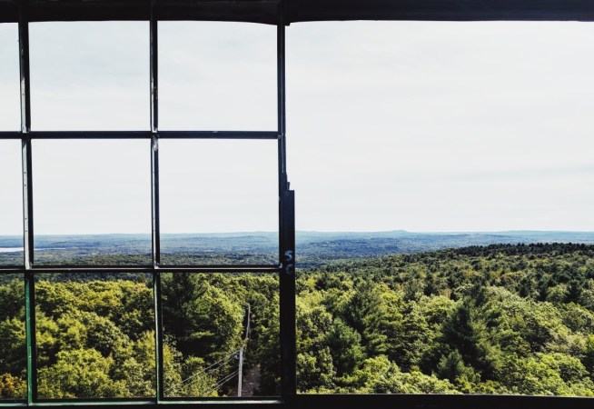 Maine fire tower
