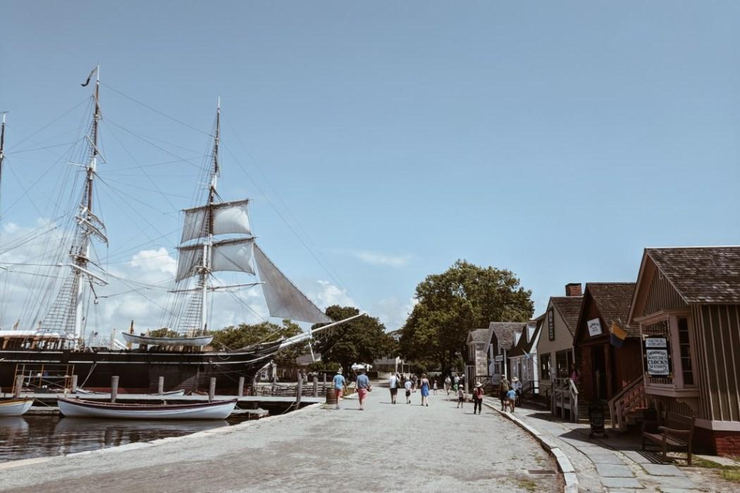 Mystic seaport village