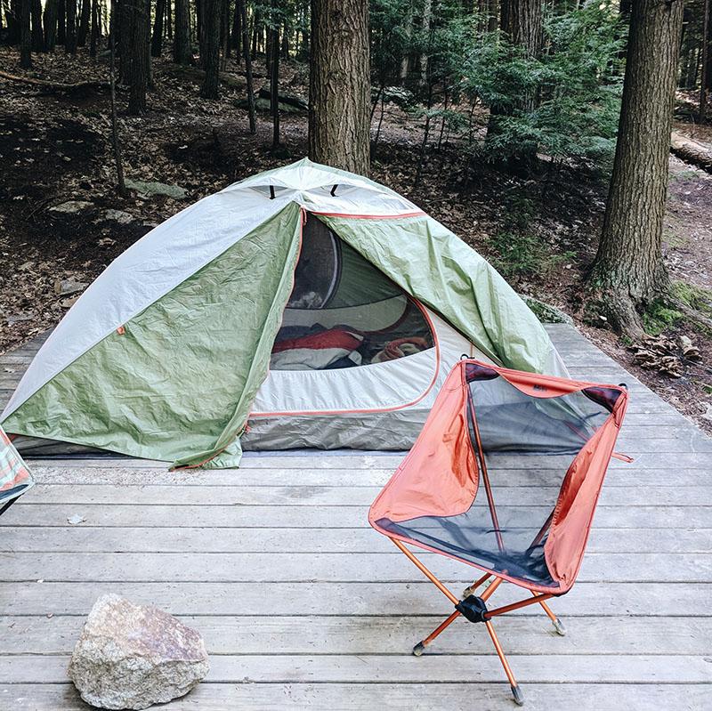 Tente camping mt monadnock