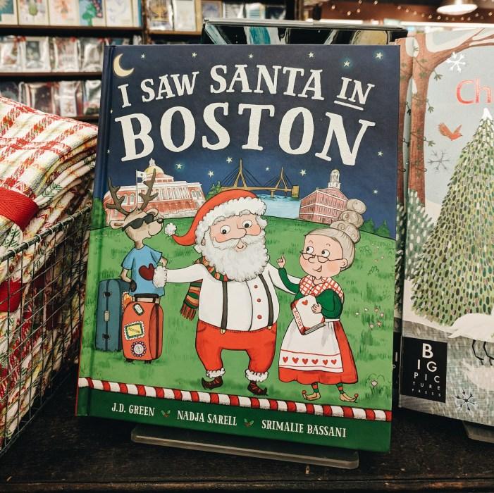 Livre pour enfant I saw Santa in Boston