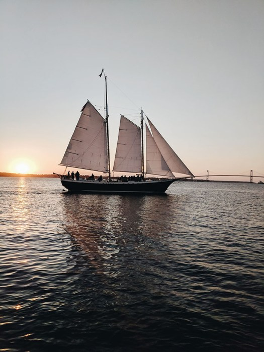 Sunset cruise newport