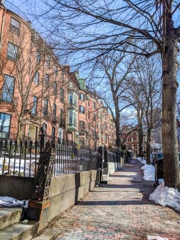 Beacon hill boston hiver 1