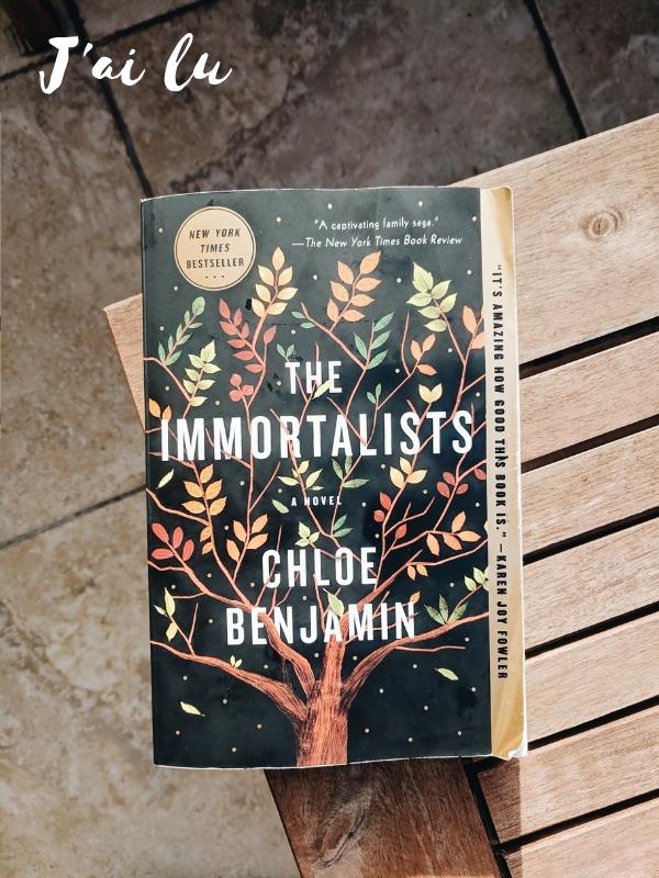 Jai lu The Immortalists
