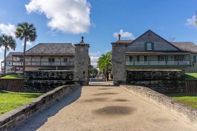 Gate st augustine florida 2