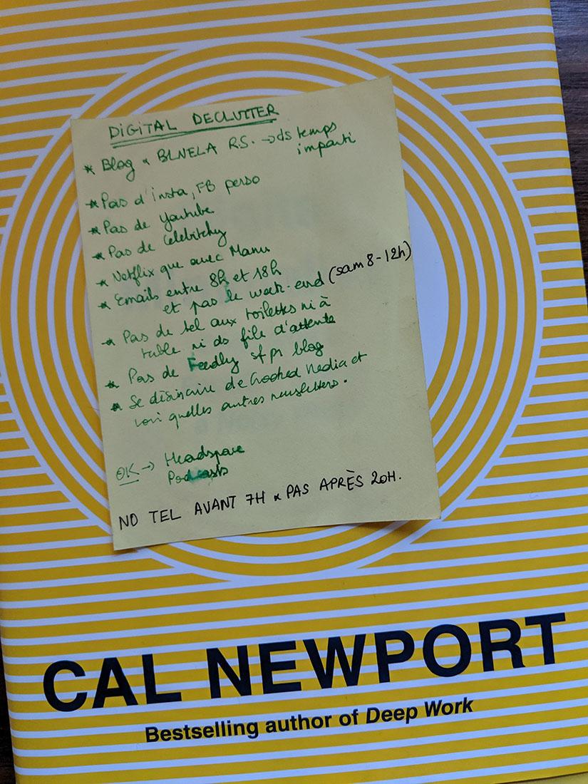 Cal newport digital declutter