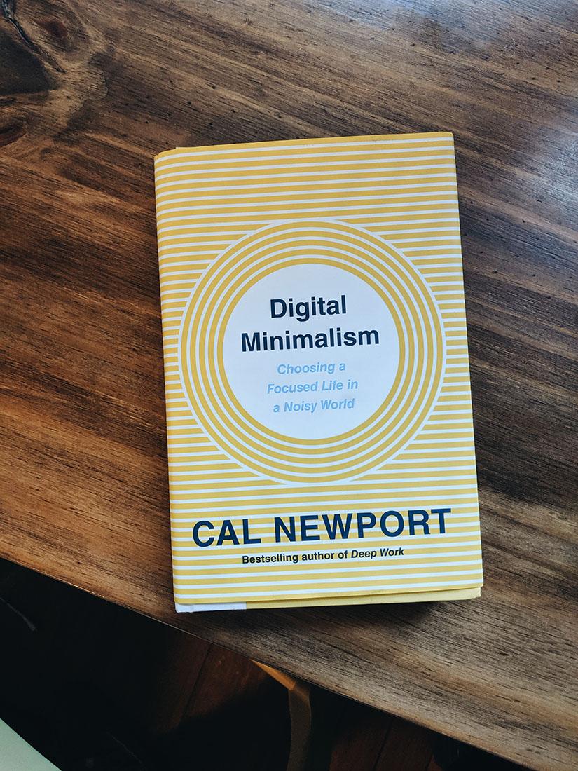 Cal newport digital minimalisme book maathiildee