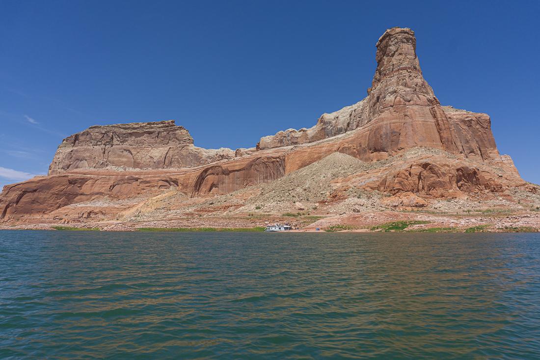 Lake powell en bateau 7
