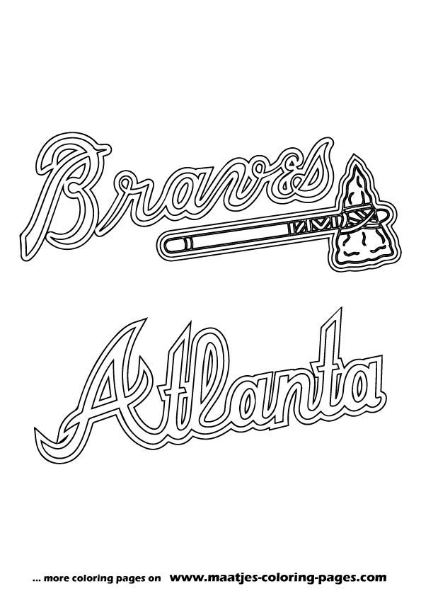 Mlb Logos Coloring Pages Printable Games 2 Sketch Coloring