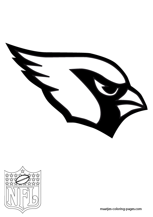 cardinals  free coloring pages