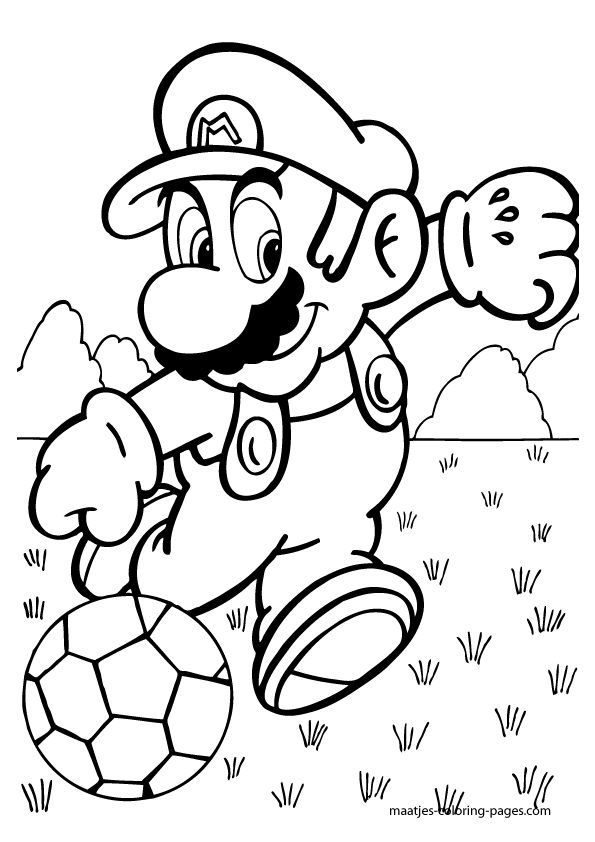 Super Mario World Coloring Pages Water Coloring Pages