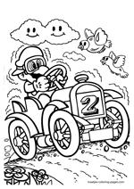 Super Mario coloring pages