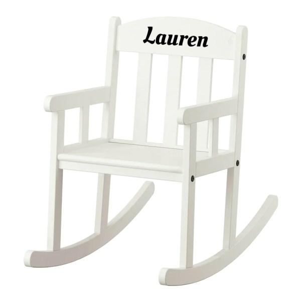 schommelstoel met naam