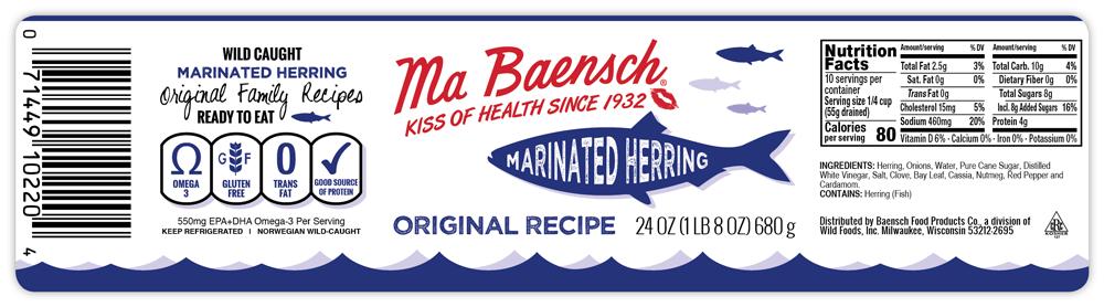 Ma Baensch label