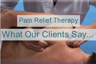 Client feedback - pain