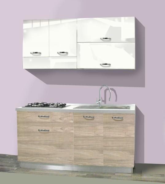 Cucine da 160 cm Tutte le cucine sono reversibili da destra a sinistra  Mabelsrlcom Minicucine Cucine Lavelli Multiuso Outlet