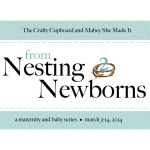 Nesting to Newborns Wrap-up