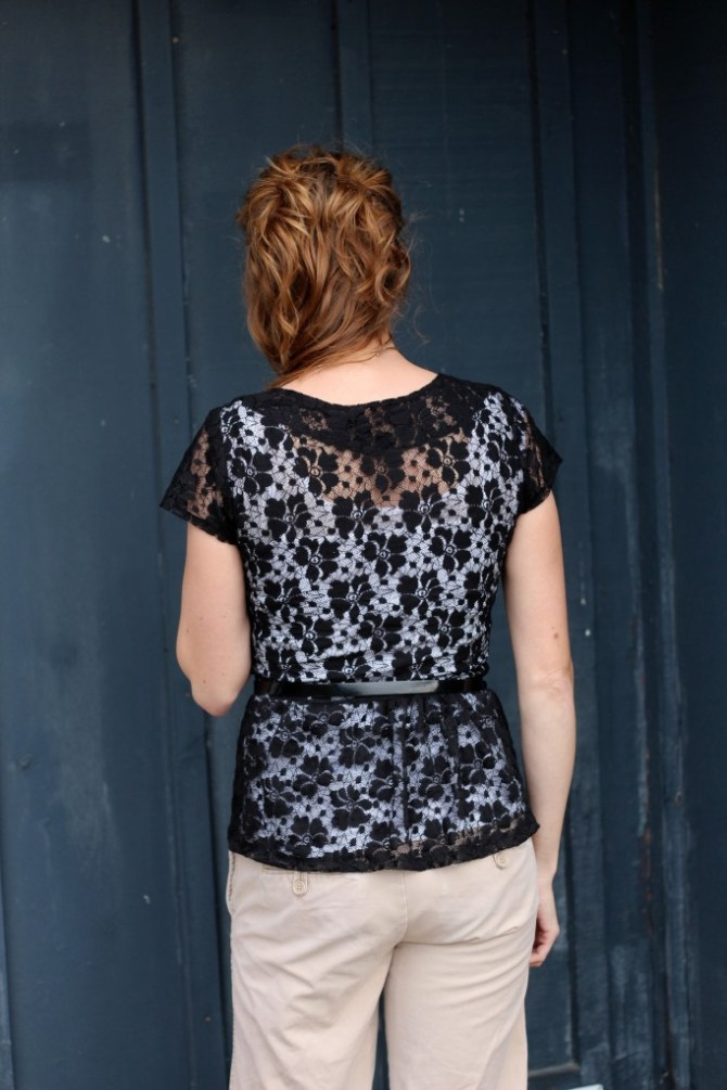 Penelope Peplum | Mabey She Made It #peplum #seekatesew #lace