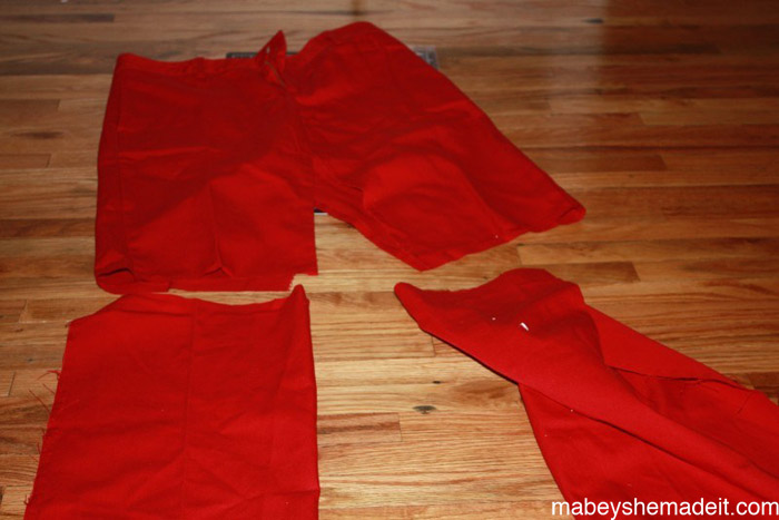 Panelist Skirt: a Pants to Skirt Tutorial | Mabey She Made It #refashion #skirt #pencilskirt