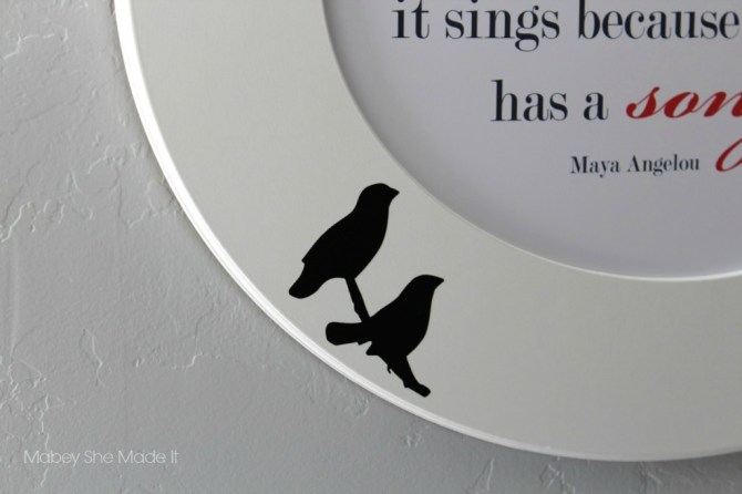 Cut It Out Review | Mabey She Made It | #frame #mayaangelou #birds