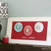 USA Fourth of July Decor + 109 Other Red, White, and Blue Projects