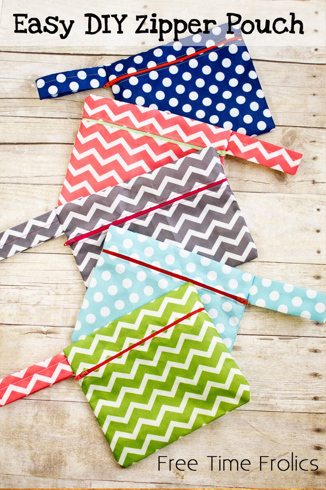 Easy DIY Zipper Pouch Mabey She Made It