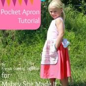 Pocket Apron Tutorial
