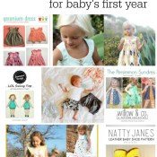 Sewing Patterns for Baby's First Year