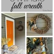5-Minute Fall Wreath