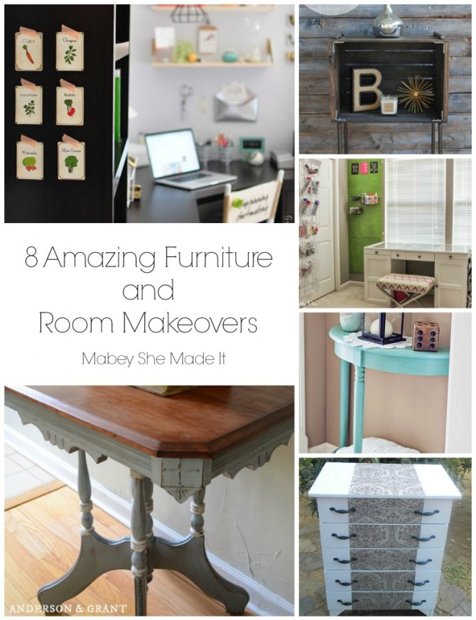 Furniture Makeover Roundup