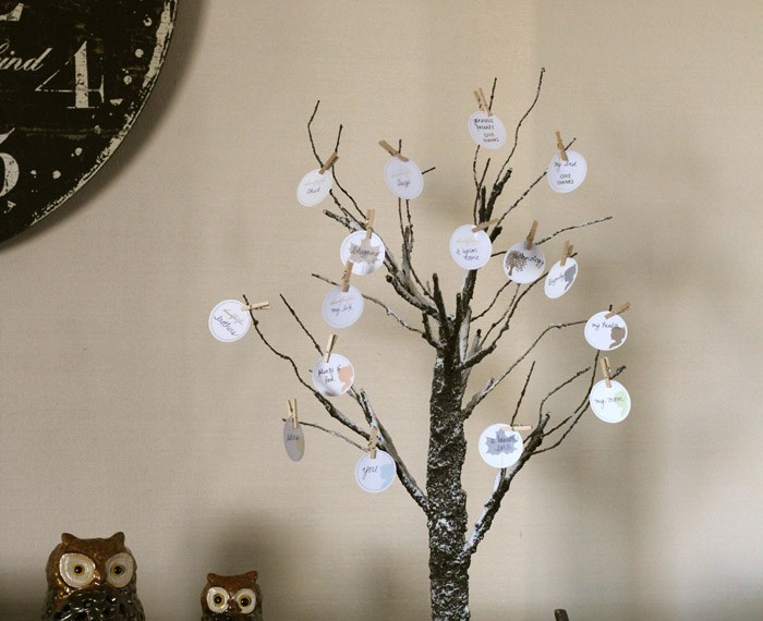 Thankful Tree Printables | Mabey She Made It | #thanksgiving #thankfultree #printable