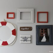 Life Preserver Gallery Wall