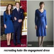 Recreating Kate: Issa Engagement Dress