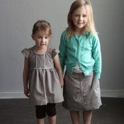 9 Tips for Upcycling Clothes: Skirt and Tunic from Pants