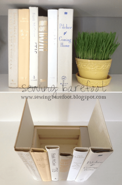 """""""hidden storage"""" books"""