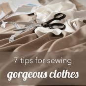 7 Ways to Make Your Sewing Look Professional