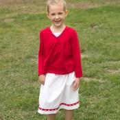 Easy Patriotic Skirt