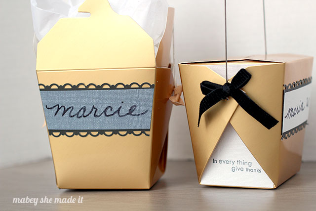 Personalized Favor Boxes are perfect for parties and to give your guests at Thanksgiving