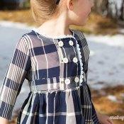 Plaid Christmas Charlotte Dress