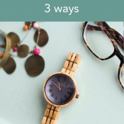 3 Ways to Style a Wood Watch