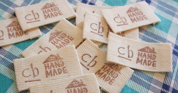 DIY Stamped Twill Tape Clothing Labels
